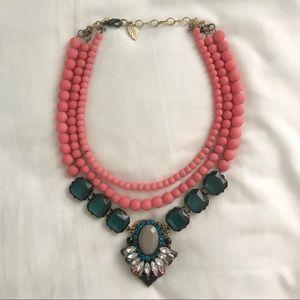 Anthropologie Bib statement necklace